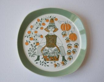 Figgjo Flint - SICILIA - Plate - Turi Gramstad Oliver - Norway - Scandinavian mid century design