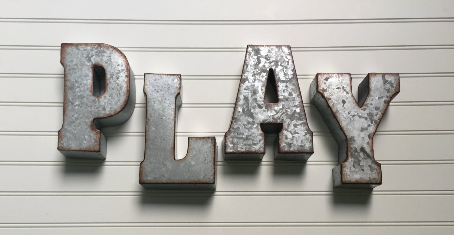 Metal Wall Letters For Nursery Eat Sign  Metal Letter Eat Wall Letter Sign  Signage