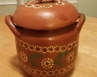 Gorgeous Mexican bean pot