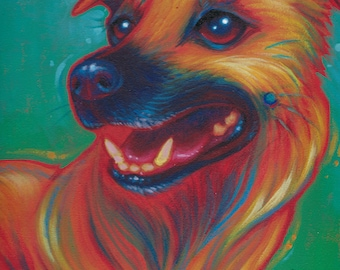11 x 14 Custom Pet Paintings