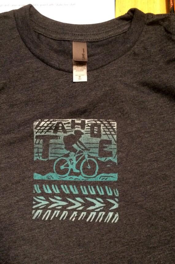 Youth Tahoe Bike T Shirt unisex