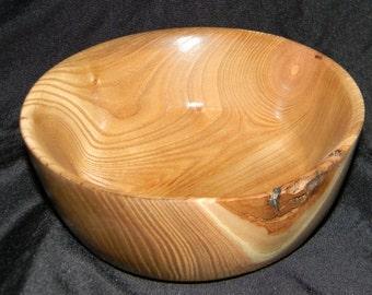 Handmade Woodturned Alder Bowl