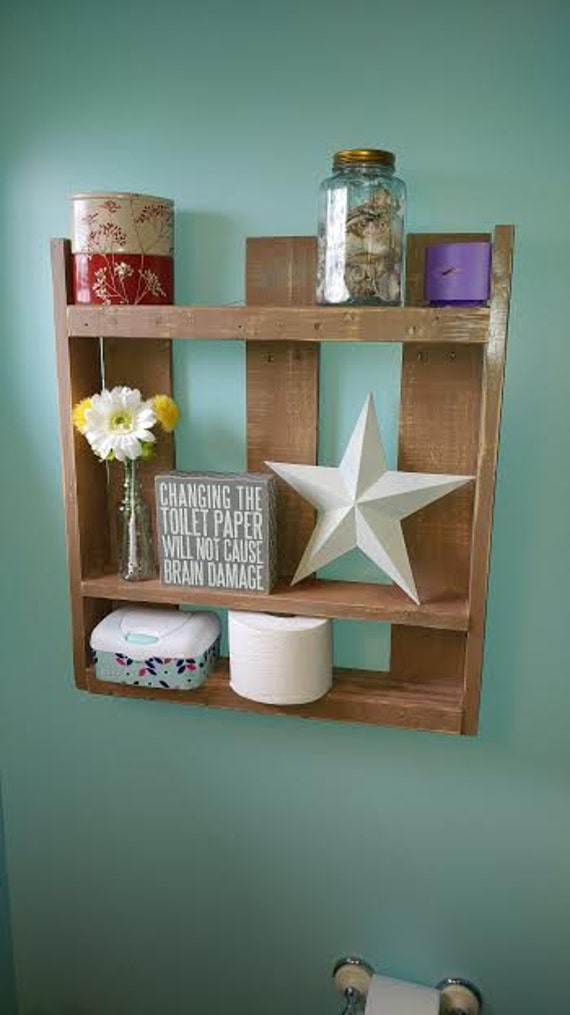 Qtr pallet wall shelf