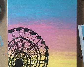 Ferris Wheel Painting