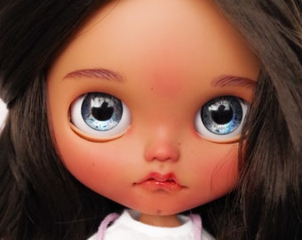 Kitty by ElDollRado - Blythe OOAK custom doll, jointed body + outfit