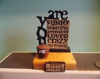 """Nutty Friend - What are you """"Nuts"""" about?"""
