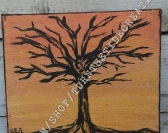 Original painting Copper Tree