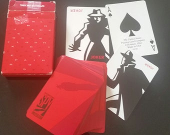 vintage deck of playing cards INTERNATIONAL SPY MUSEUM