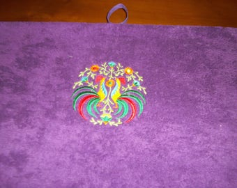ROUND ROOSTER TOWEL