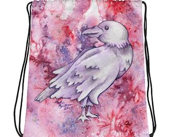 Raven Galaxy - Drawstring bag