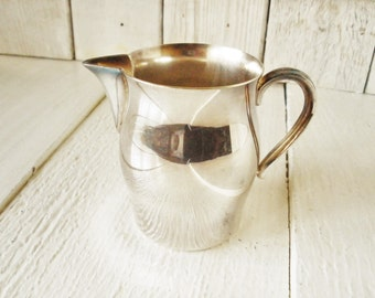 Vintage miniature pitcher silverplate Paul Revere design William Rogers sample/ free shipping US