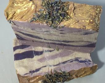 Lavender Tiger Stripe Soap