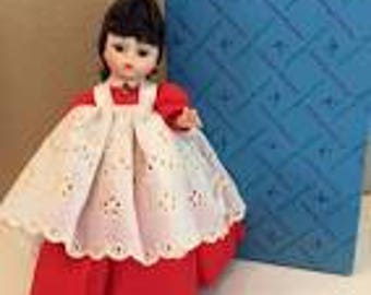 "Madame Alexander collectible vintage 7.5"" doll, Little Women Series, Jo #413"