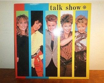 Vintage 1984 Vinyl LP Record Talk Show The Go Go's Near Mint Condition 12330