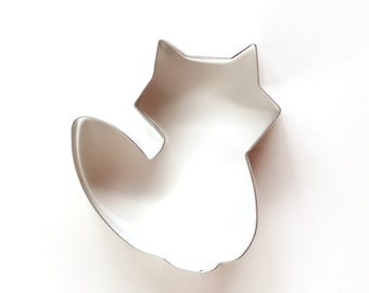 Fox Cookie Cutter, Animal Cookie Cutter, Woodland Cookie Cutter