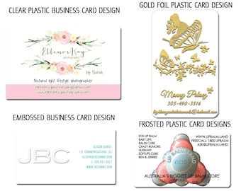 Custom Business card or Hang tag graphic design - plus a round of UNLIMITED complimentary edits - Reserved for printforbrands clients