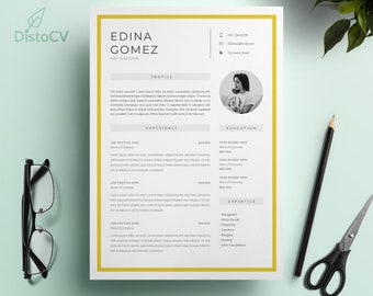 Resume Template, CV Template, Cover Letter MS Word, Curriculum Vitae, Director CV Template, Modern Resume, Instant Download, Resume Design