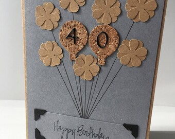 Happy birthday, birthday, handmade