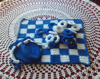 Checkers,Games,Kids,Adults,Toys,Door Prize,Crocheted,Sports,Gifts,Boys,Girls,Teens,Seniors