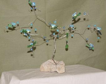 Blue Blossom Fairy Tree