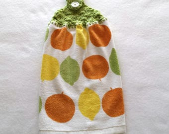 Hanging Kitchen Towels ~ Hanging Hand Towels ~ Hanging Dish Towels ~ Kitchen Towel