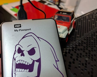 Skeletor Laughing Decal