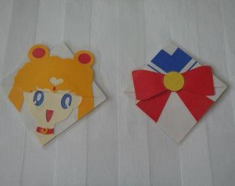 Sailor Moon Corner Bookmark (laminated)