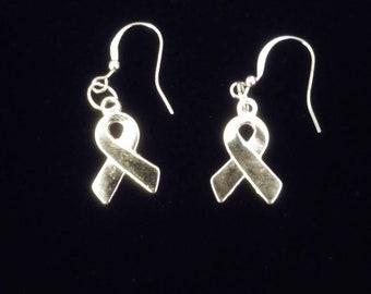 Small Ribbon Earrings