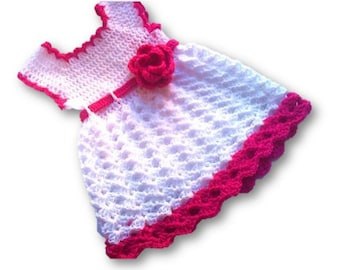 baby dress pattern, crochet baby dress, baby girl dresses, crochet pattern, toddler dress pattern, girl dress pattern, diy baby dress,