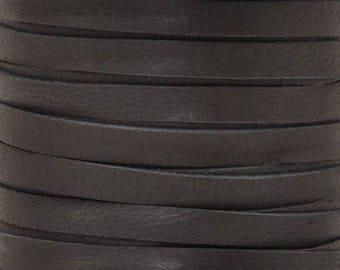 Leather-3mm Deerskin Lace-Black-50 Feet
