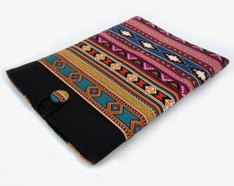 Macbook Air Sleeve, Macbook Air Case, 13 inch Macbook Air Cover, 13 inch Macbook Air Case, Laptop Sleeve, Tribal Stripes