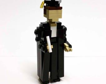 LEGO Graduate in Black Robes