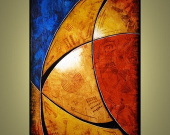 Contemporary abstract, modern art painting 36 Kubatica
