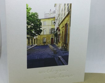 Wendy Dreaney Card (with you, I am home)