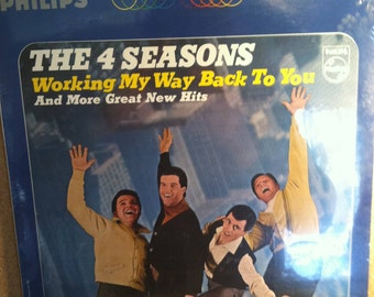 The Four Seasons Working My Way Back To You Sealed Vinyl Pop Record Album