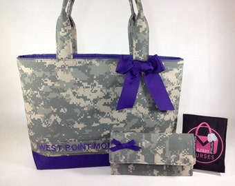 Quick Order Tote- All Military Camo Types,Army, Air Force, Navy, Marines, Custom, RTS,Handmade, Bag,Purse,Tote,Free Shipping