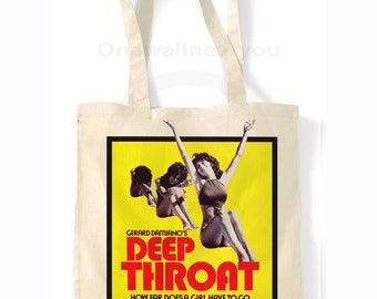Deep Throat - Retro Shopping Bag