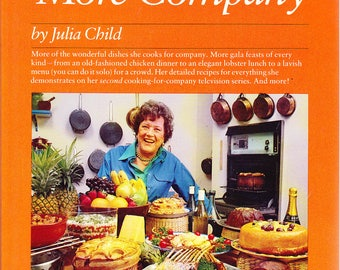 SHIPS in a BOX Julia Child and More Company 1979 Paperback Cookbook