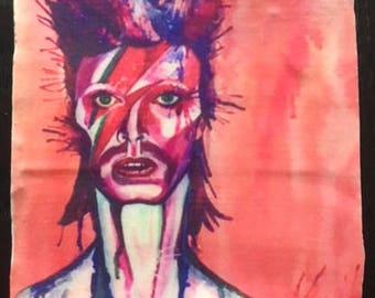 Bowie ceramic coaster