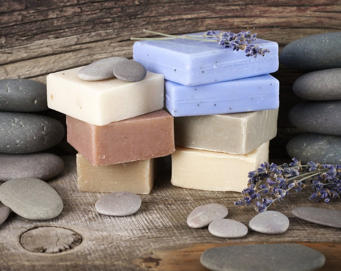 Gilded Goat Handcrafted Designer Soaps - All Natural Earth Sentiments Collection - Made To Order