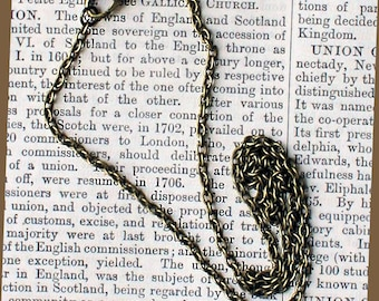 """12 Antique Bronze Necklaces 16"""" with Lobster Claw Clasps - N018"""