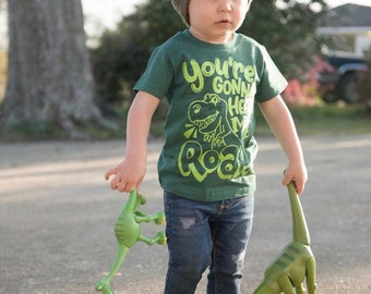 Dinosaur Shirt ROAR , Trendy Kid's Tee, Boy Clothes, Girl Clothes, Toddler Tee, Baby Clothes, Kids Shirt, Birthday Tee, Children's Clothing