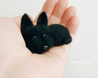 Needle felted Scottish terrier