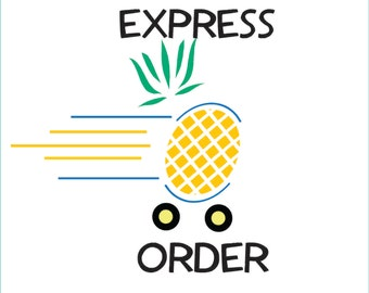 Blanket Express Order Processing Rush Order