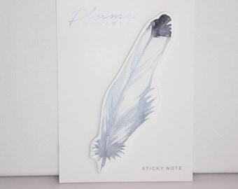 sticky notes / memopad feather dove