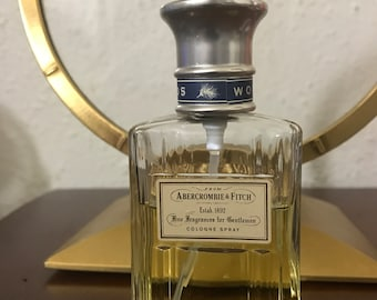 Vintage Authentic Mens Abercrombie & Fitch 1.7 oz WOODS Cologne Spray 60-65%full