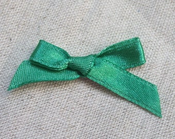 Set of 10 35 mm satin ribbons