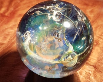 Exp. #17 Glass Marble- Contemporary Glass Art