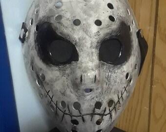 "Friday the 13th ""Jack Skellington"" inspired mask"