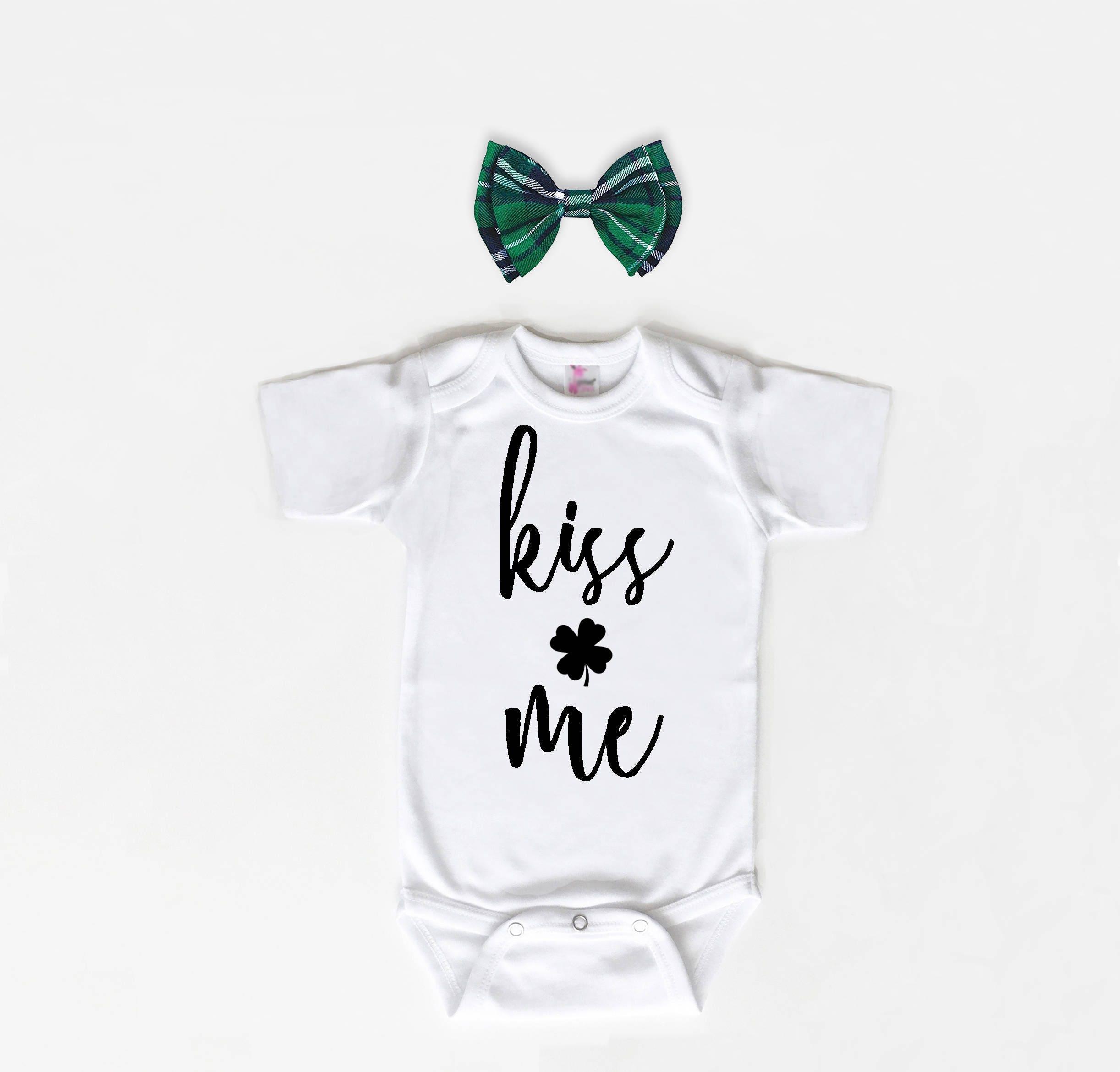 St Patricks Day Baby Bodysuit Baby Shirt St Pattys Day